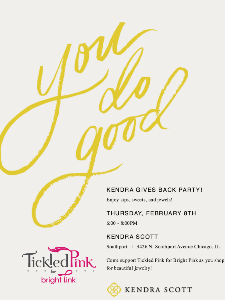 Kendra Scott Tickled Pink Event 2-8-18
